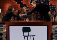 'Ja maar'-stoel van Daan Roosegaarde